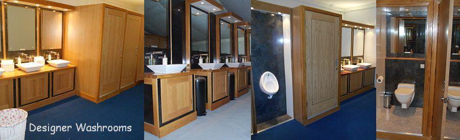 Luxury toilets for weddings